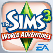The Sims 3 World Adventures for iPhone