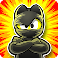 Ninja Hero Cats Premium for Android