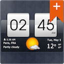 Sense Flip Clock & Weather Pro for Android